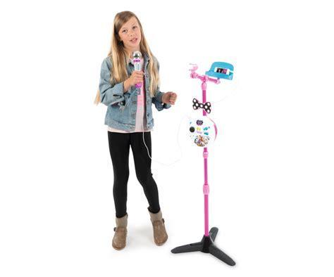 Maggie & Bianca Karaoke Stand Microphone   Music   Role