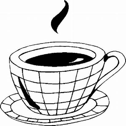 Coloring Pages Cappuccino Drinks Drink Celebrate National