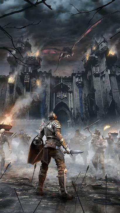 Souls Remake 4k Poster Demon