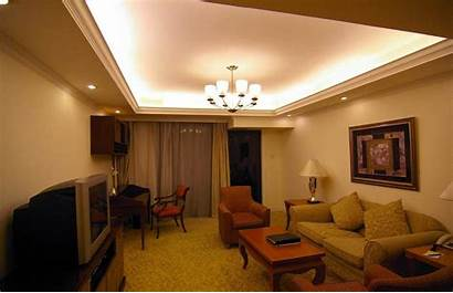 Living Lighting Ceiling Shades Apartment Night Tv