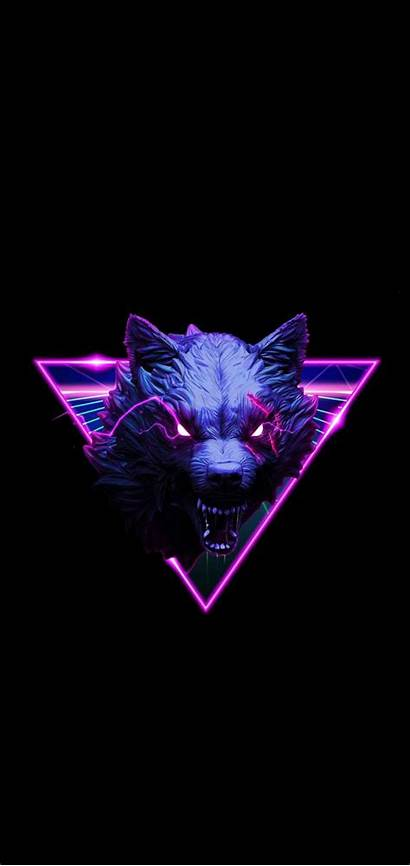 Neon Scp Wallpapers Wolf Iphone Vgy Visual
