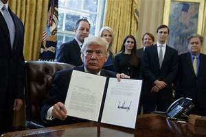 Trump signs executive order to advance controversial ...