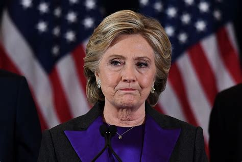 hillary clinton concession speech clintons