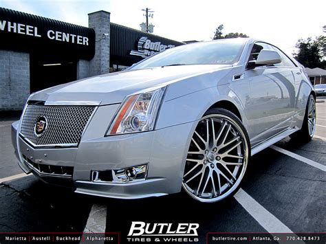 Butler Tire Shows Off a Cadillac CTS Coupe ~ Doing Donuts