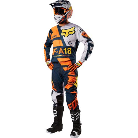 fox motocross gear 2018 fox racing 180 sayak gear kit orange sixstar racing
