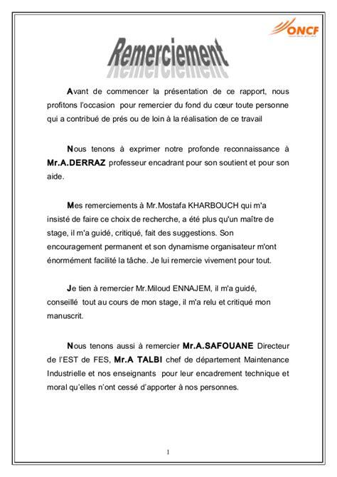 rapport de stage cuisine collective exemple lettre de remerciement rapport de stage 3eme 9