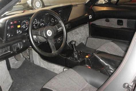 1980 Bmw M1 Coupe Interior