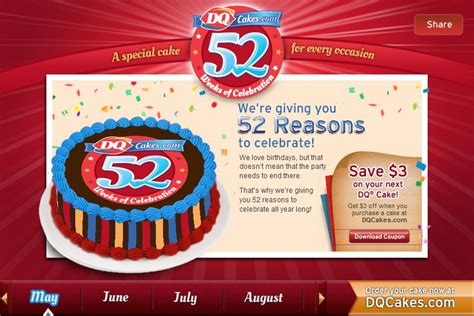 dq cake coupons