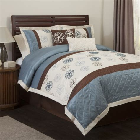 blue and brown bedding cheap blue and brown comforter sets