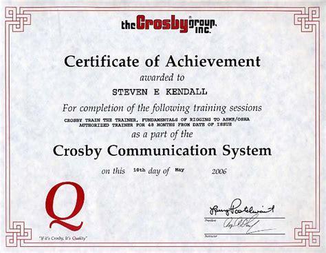 osha certificate template osha training