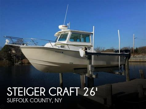 Boats For Sale Moriches Ny by 2008 Steiger Craft 26 Chesapeake Center Moriches Ny For