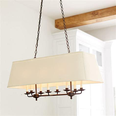 rectangular lantern chandelier remington 8 light rectangle chandelier ballard designs
