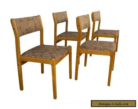 moller teak dining chairs mid century modern for