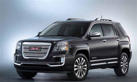 2019 Gmc Terrain Denali Changes And Price  2018 Car Reviews