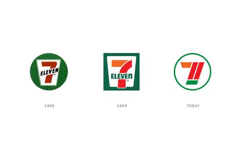 7 eleven rebrand on behance