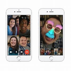 Facebook Debuts Group Video Chat Capability To Messenger