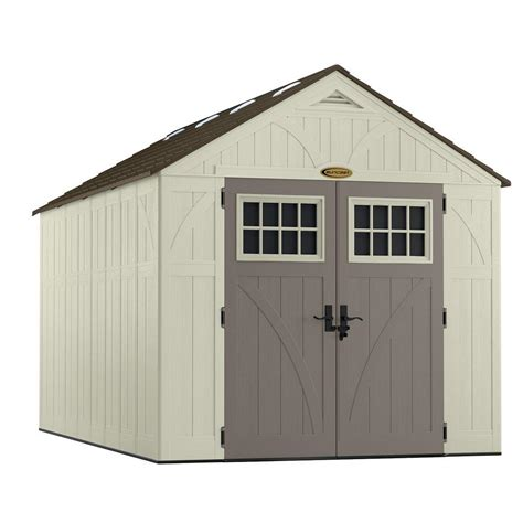 Suncast Tremont Shed 8 X 13 by Suncast Tremont 13 Ft 2 3 4 In X 8 Ft 4 1 2 In Resin