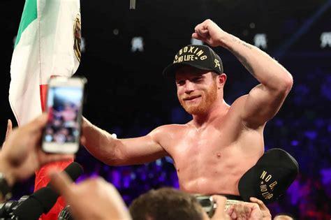 canelo alvarez signs historic  fight  million deal