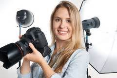 photographer working   cute model   professional