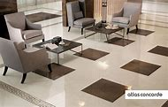 Living Room Tile Floor Designs