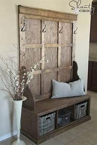 diy meuble 29 meubles a fabriquer soi meme With porte d entrée pvc avec meuble de salle de bain en bois