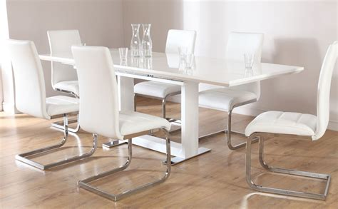 white dining table chairs tokyo perth extending dining set white only 599 99