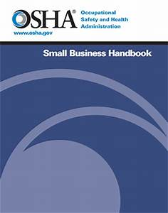 osha safety plan template - small business handbook occupational safety and health