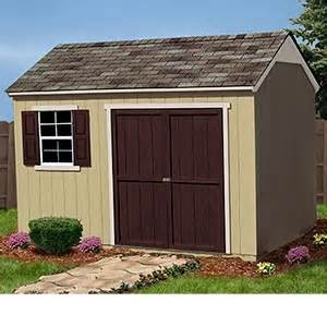 dan ini yardline everton 8 x 12 wood storage shed