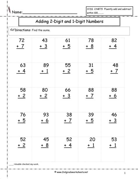 adding two digit and one digit numbers satta math