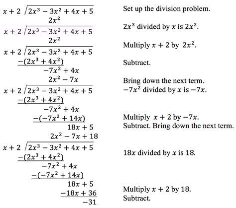 dividing polynomials using division worksheets 1000