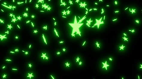 Animated Green Wallpaper - animated falling neon green on black background 2