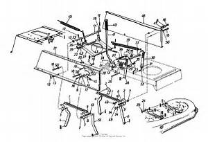 Mtd 13an698g205  2000  Parts Diagram For Lift Assembly