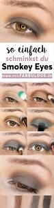 Eyeliner Für Anfänger : einfache smokey eyes schminken anleitung mit bildern styling make up smokey eyes schminken ~ Frokenaadalensverden.com Haus und Dekorationen