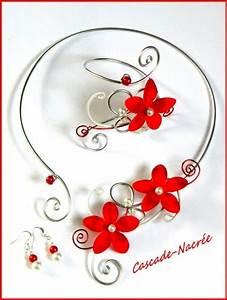 collier rouge mariage la boutique de maud With bijoux mariage rouge