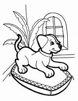 Coloring Pages Puppies Puppy Dogs Dog Children Printable Sheets Animals Obedient Cliparts Resting Favorite Clipart Bestcoloringpagesforkids Pillow Favorites sketch template