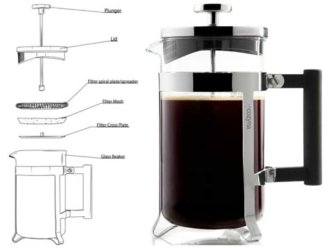 how to press a the french press coffee makercozyna