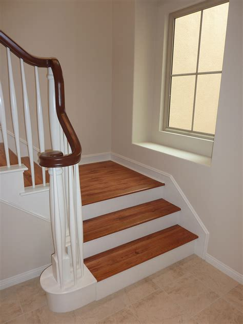 laminate flooring stairs laminate flooring can laminate flooring be put on stairs