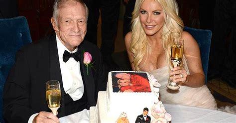 Playboy founder Hugh Hefner marries his 'runaway bride ...