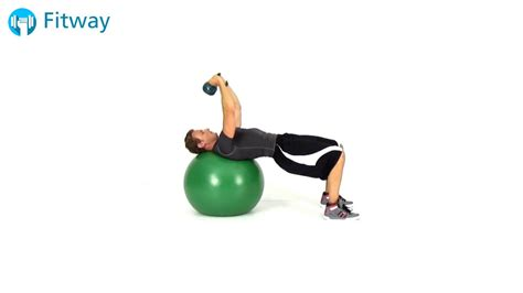 kettlebell ball chest exercise workout pullover stability