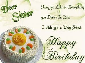Wonderful B'day Card Of Little Sister