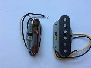 Pure Vintage  U0026 39 64 Telecaster Pickup Set Fender