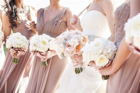 Taupe Bridesmaids Dresses Elizabeth Anne Designs: The