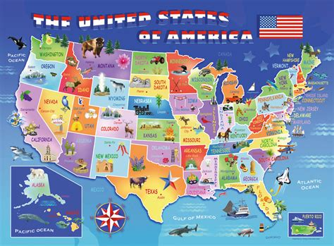 usa state map image  click  zoom
