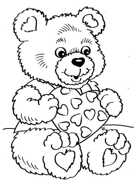 Coloring Valentines by Valentines Coloring Pages Coloring Pages 13 Free