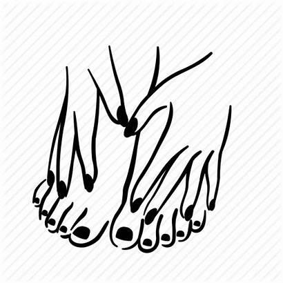 Manicure Pedicure Nail Icon Icons Hand Fingernail