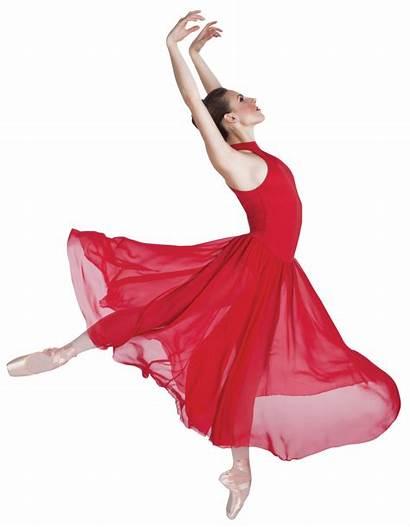 Dance Costume Lyrical Neck Dresses Mock Wrappers