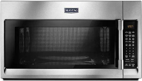 maytag stainless   range microwave mmvfz