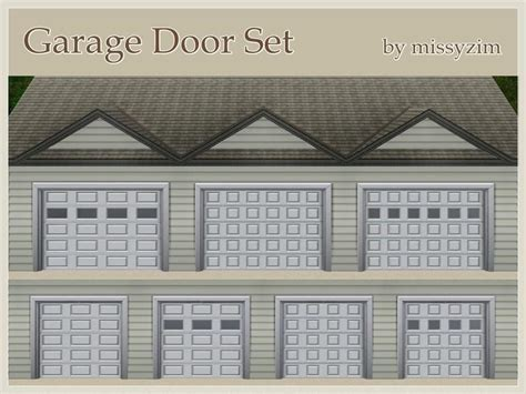 install garage door missyzim 39 s garage door set