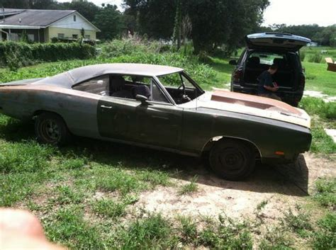 sell new 1969 dodge charger base 7 2l project car in green cove springs florida united states
