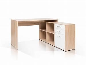 Schreibtisch Eiche Weiß : london i schreibtisch eiche sonoma wei ~ Michelbontemps.com Haus und Dekorationen
